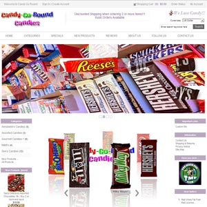 Candy-Go-Round Candy Store