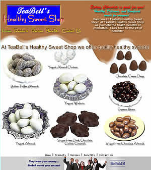 TeaBell's Healthy Sweets Store