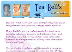 TeaBell's Skin Care Solutions